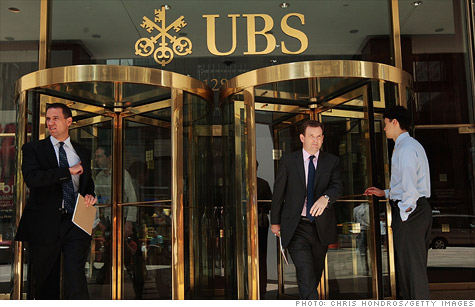 Swiss bank UBS is cutting its staff by 3,500 jobs
