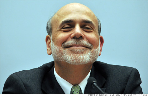 Federal Reserve chairman Ben Bernanke looks happy here. But will investors be smiling after his eagerly anticipated speech on Friday?