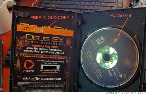 GameStop coupon drama: Opened Deus Ex boxes, discarded code