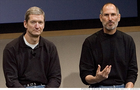Former COO Tim Cook will take over as CEO after Steve Jobs announced his resignation late Wednesday.