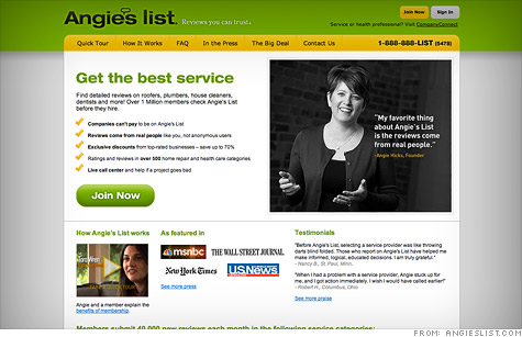 Angies List IPO