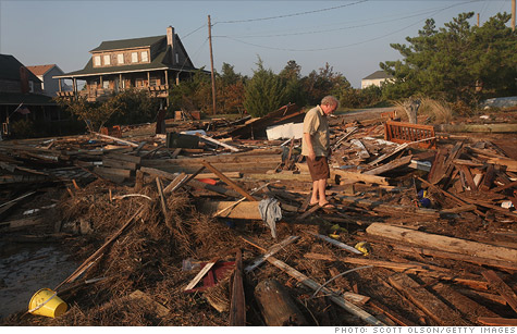 Hurricane Irene may have caused billions in damage