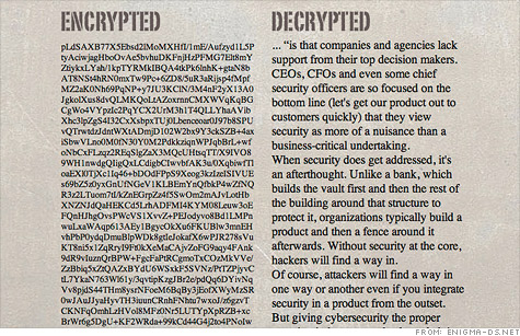 The mystery of unhackable codes - Sep. 2, 2011