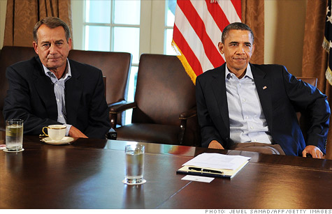 House Speaker John Boehner and President Obama have different views on new regulations that may be killing jobs.