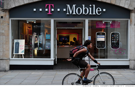 Without AT&T, T-Mobile doesn't have many options