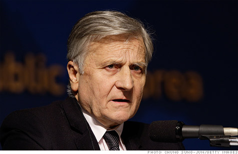 European Central Bank President Jean-Claude Trichet.