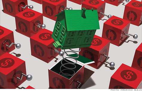 When will home prices spring back?