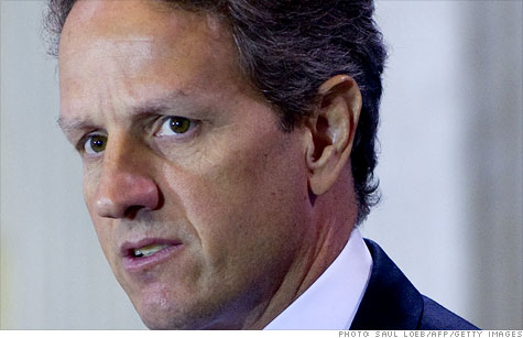 U.S. Treasury Secretary Timothy Geithner is meeting with eurozone finance ministers in Poland to discuss the debt crisis.