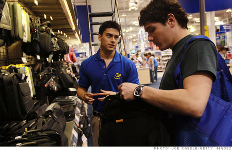 Best Buy said it will hire 15,000