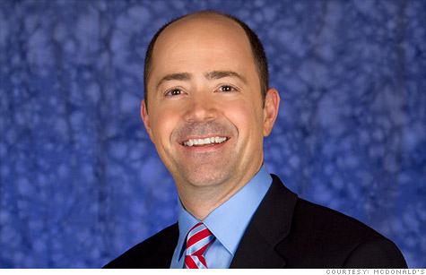 Steve Russell is the senior vice president and chief people officer for McDonald's USA and oversees all hiring in the United States for McDonald's.
