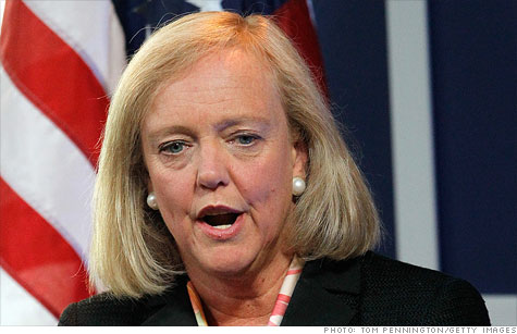 meg whitman salary