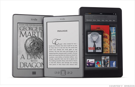 Amazon's new Kindle line includes a big push for cheaper, ad-supported versions.