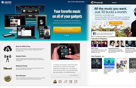 Rhapsody to buy Napster