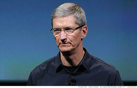 Apple CEO Tim Cook's first product announcement was a disappointment to many -- but analysts still expect record sales.