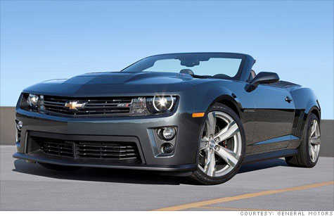 The Chevrolet Camaro ZL1 convertible will be the most powerful  Chevy convertible GM has ever built