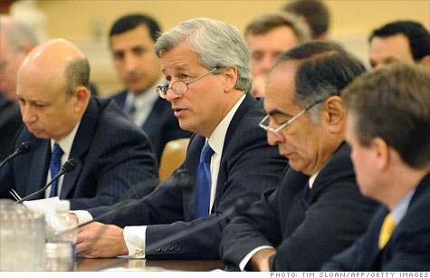 Bank CEOs testify on the effects of Dodd-Frank legislation.