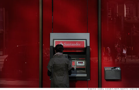 Standard & Poor's announced negative rating actions against 15 Spanish banks, including Banco Santander S.A.