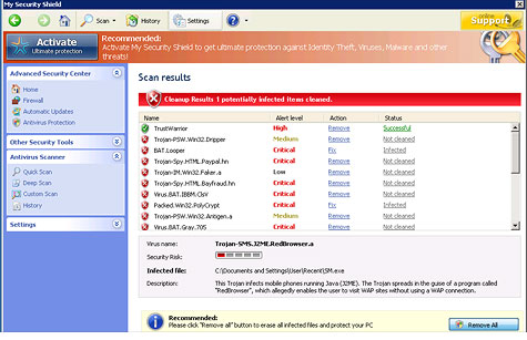 If your PC is riddled with infections, they probably came in through files you installed yourself.