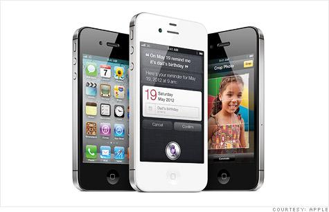 Apple sells record 4 million iPhones
