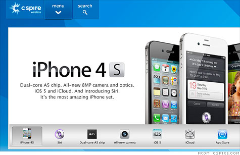 Tiny regional carrier C Spire lands iPhone 4S