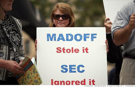 Madoff victims upset by new media attention on Ponzi schemer.