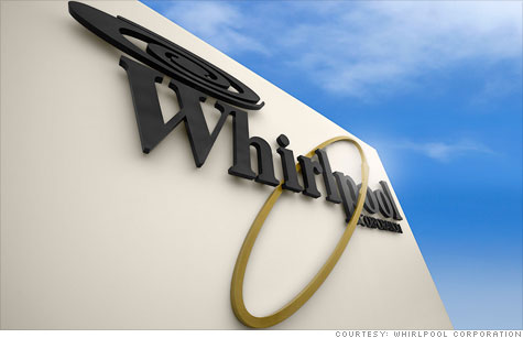 Whirlpool announced that it will cut 5,000 jobs in North America and Europe and shut down a factory in Arkansas.