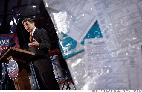 Perry's complicated simple flat tax