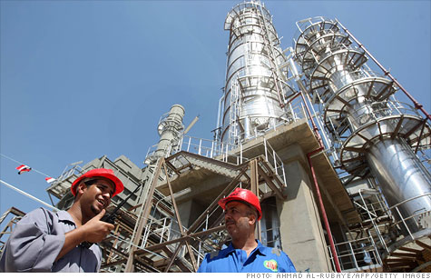 After years of stagnant production, Iraq oil output is starting to increase.