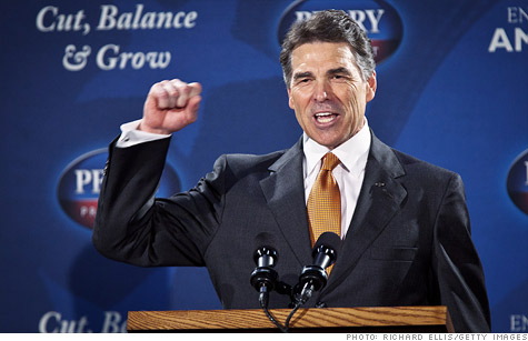 Perry's jobs promise not big enough.