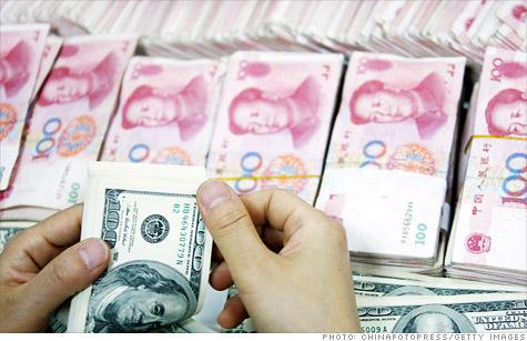 China, currency, yuan