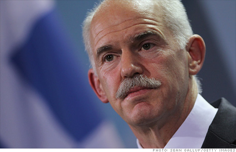 Greek Prime Minister George Papandreou is pushing for a coalition government as he seeks support for the nation's controversial bailout package.