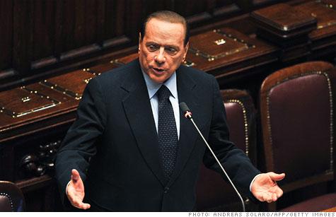 Berlusconi denies resignation rumors