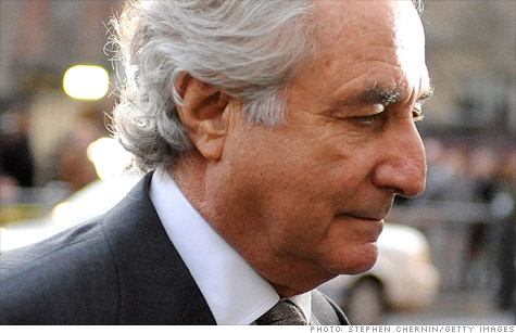 Investors who lost money to Ponzi schemer Bernard Madoff have sued JPMorgan for $19 million, accusing the Wall Street firm of aiding and abetting Madoff and profiting from his pyramid-style scam.