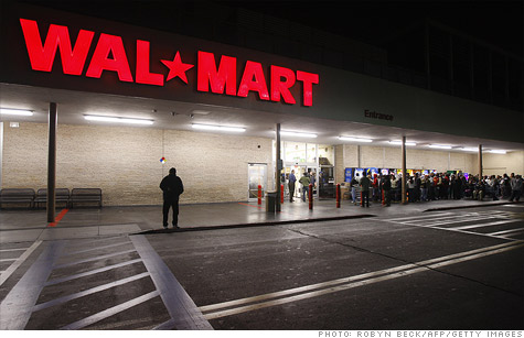 WalMart released its much-anticipated Black Friday circular and announced plans to open at 10 p.m. on Thanksgiving Day.