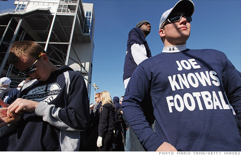 The sexual abuse scandal at Penn State has prompted at least one advertiser to pull its content from broadcasts featuring the now-tarnished football program.