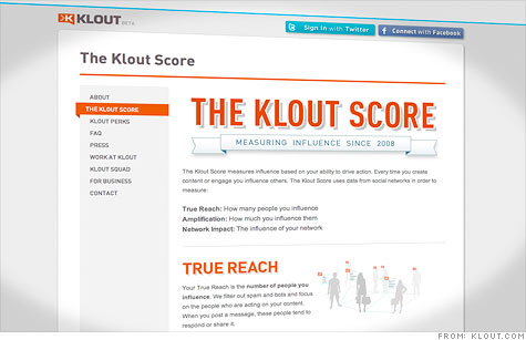 Why Klout scores are possibly evil