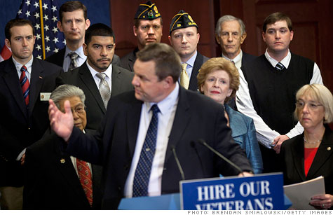 Senate passes bill to help unemployed veterans, contractors