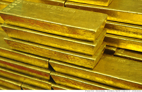 Gold has historically been used as collateral but it's unclear if it would work today.
