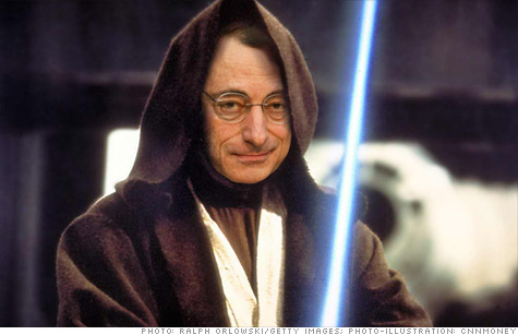 The bond market and many economists view new European Central Bank president Mario Draghi the way Princess Leia did Obi-Wan Kenobi. He is Europe's 'only hope.'