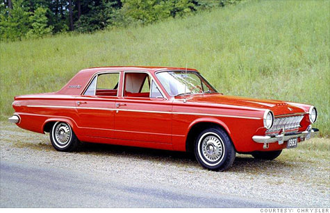 The Dodge Dart name was last used in the 1970s. This is a 1963 model.