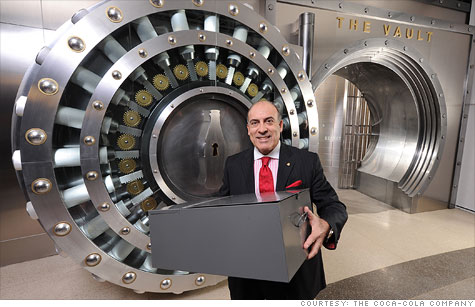 After 125 years, Coca-Cola Company's secret formula will be housed in a vault the public can see.