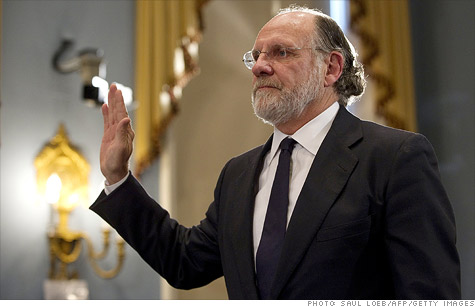Jon Corzine, the former chief executive officer of the bankrupt broker MF Global, apologized for his firm's failure on Thursday and told the House Agriculture Committee that he doesn't know where the missing money went.