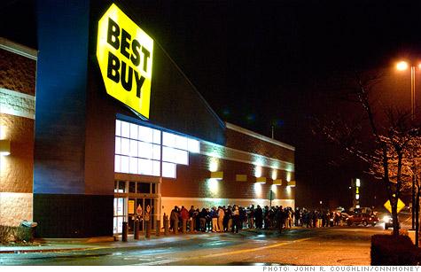 Best Buy earnings fall