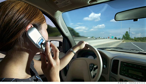 So far, where cell phone bans have been enacted, they've failed to reduce crashes, according to the Insurance Insitute for Highway Safety.