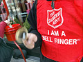 Gold coins, diamonds land in Salvation Army kettles