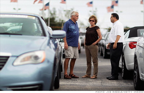Industry research group TrueCar.com says 12.8 million cars have been sold this year, the highest total since 2008.