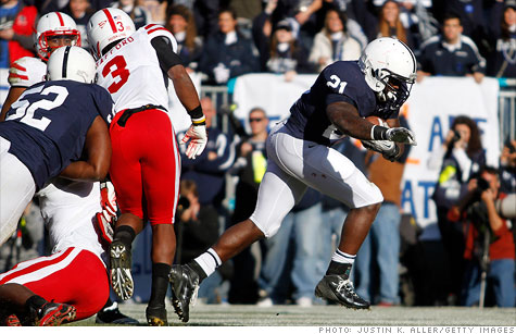 Penn State's woes won't cut college football dollars