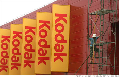 Eastman Kodak said it's consolidating, but there was no word on the possibility of job cuts or bankruptcy.