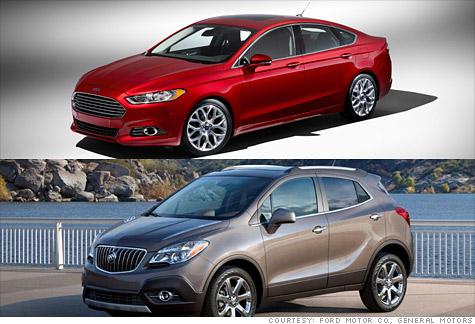 Detroit Auto Show Hit: Ford Fusion. Miss: Buick Encore