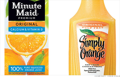 Coca-Cola, which makes popular brands Minute Maid and Simply Orange, kicked off an FDA probe into fungicide found in orange juice from Brazil.